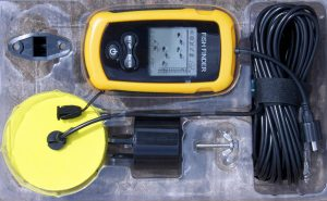 how to use a portable fish finder