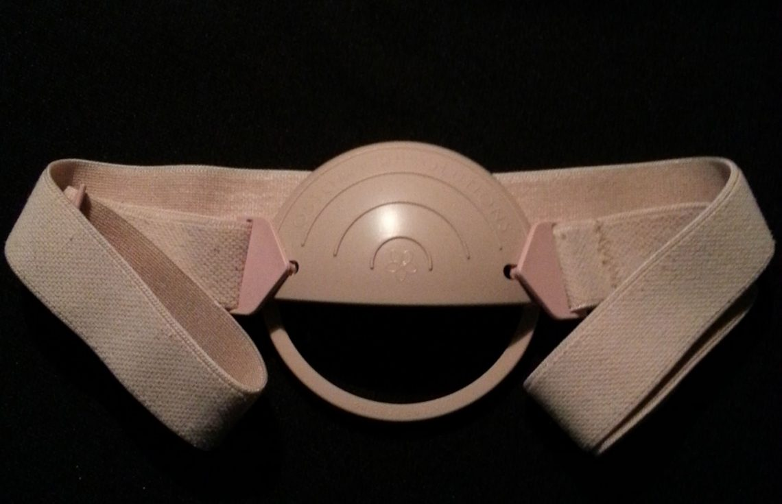 stoma guard with belt